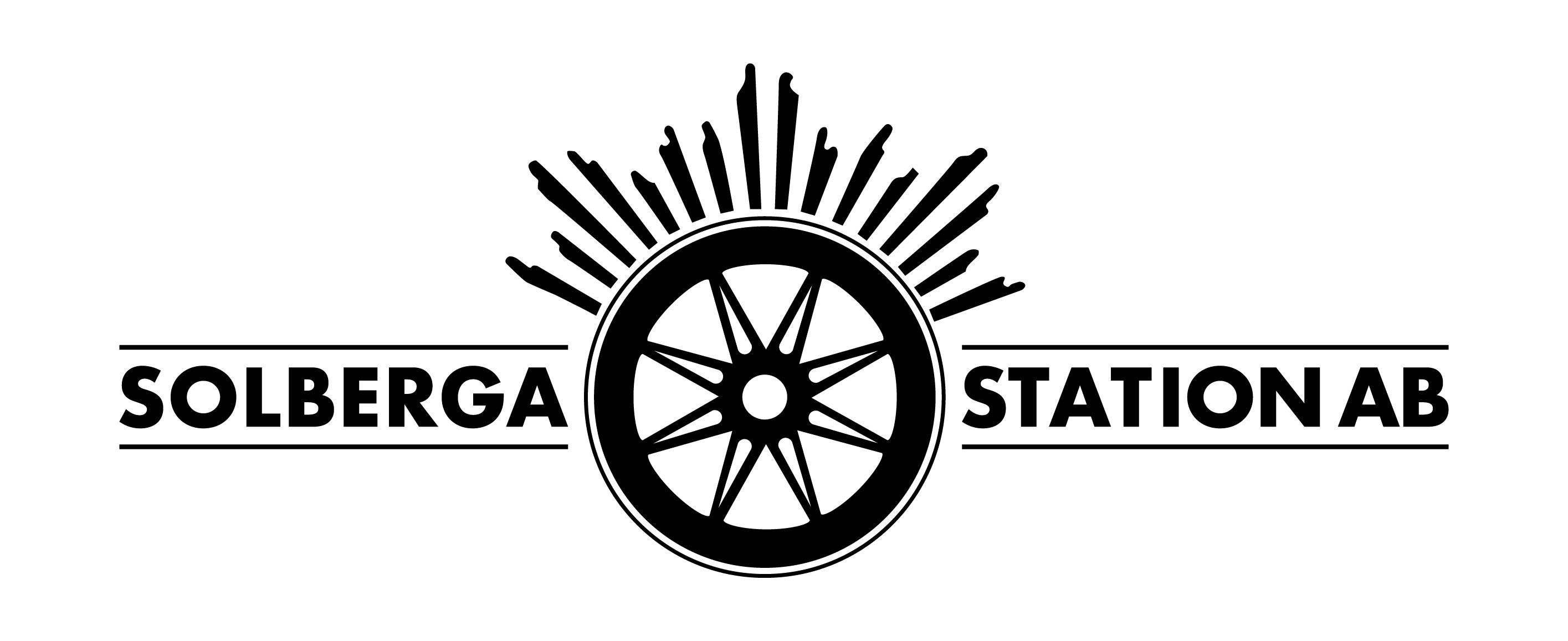 Solberga station Logotyp